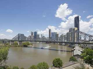 View profile: Cliff top position with river and city views